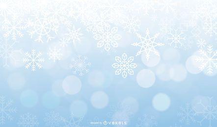 Vektor-Frost-Hintergrund