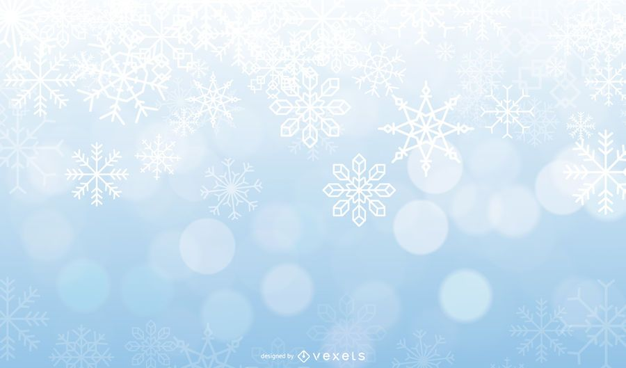 Vector Frost Background