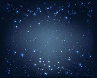 Sparkling Blue Background