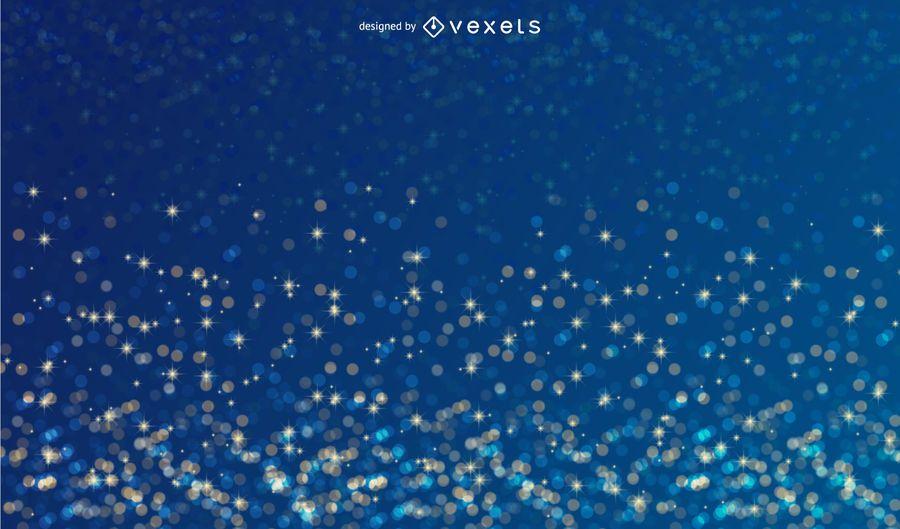 Sparkling Blue Background
