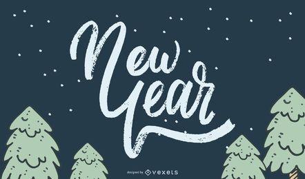 Vector Año Nuevo 2013