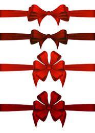 Cintas de regalo de navidad