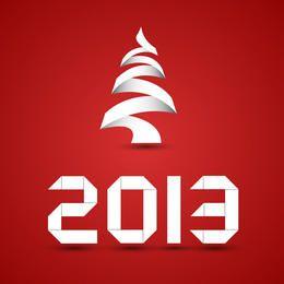 Origami Neues Jahr
