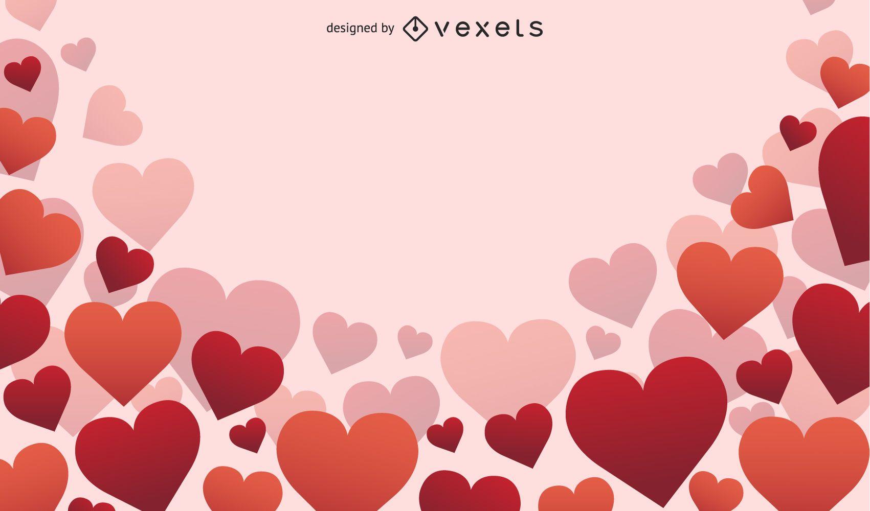 Fondo del día de San Valentín