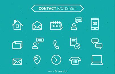 Colección de iconos vectoriales
