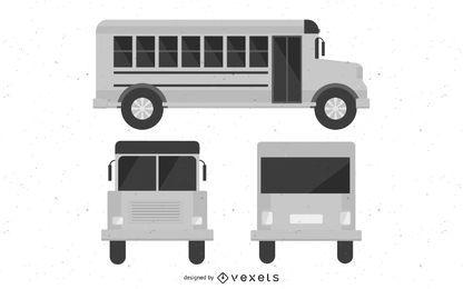 Autobús vectorial