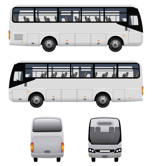 Vector Bus Vector Download