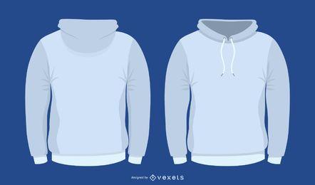Vektor-Pullover-Vorlage