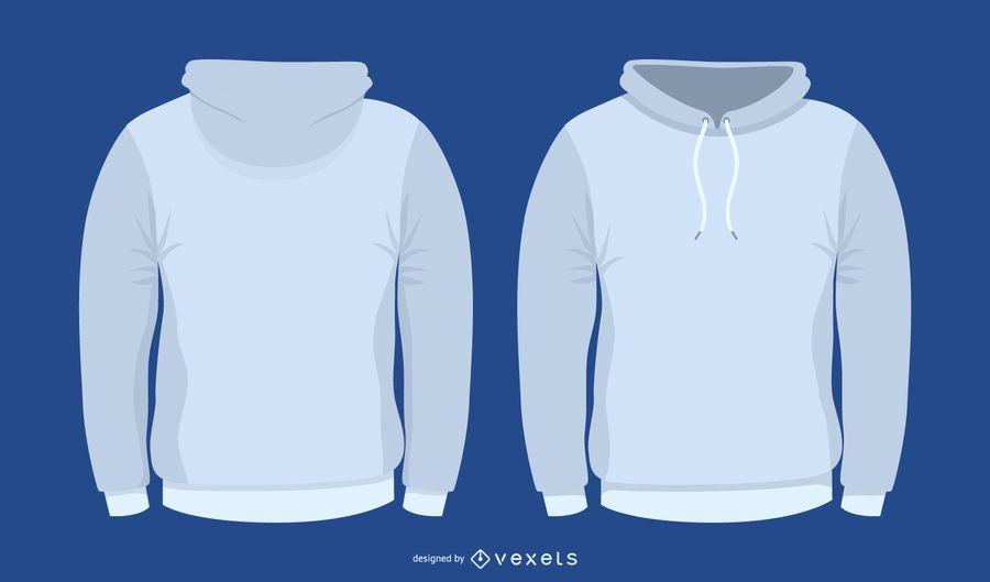 Modelo de camisola de vetor