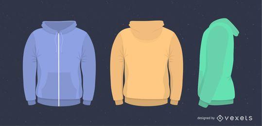 Vector suéter de los hombres
