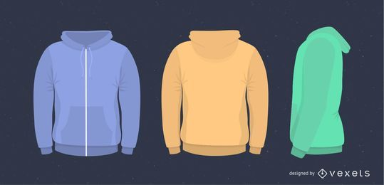 Vectores Suéter de hombre