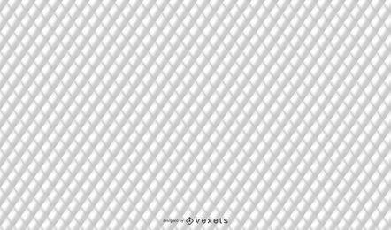 Textura acolchoada branca