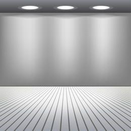 Raum mit Lichtern