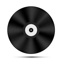 Vector del disco de vinilo