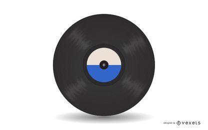 Vektor-Vinyl-Aufzeichnung