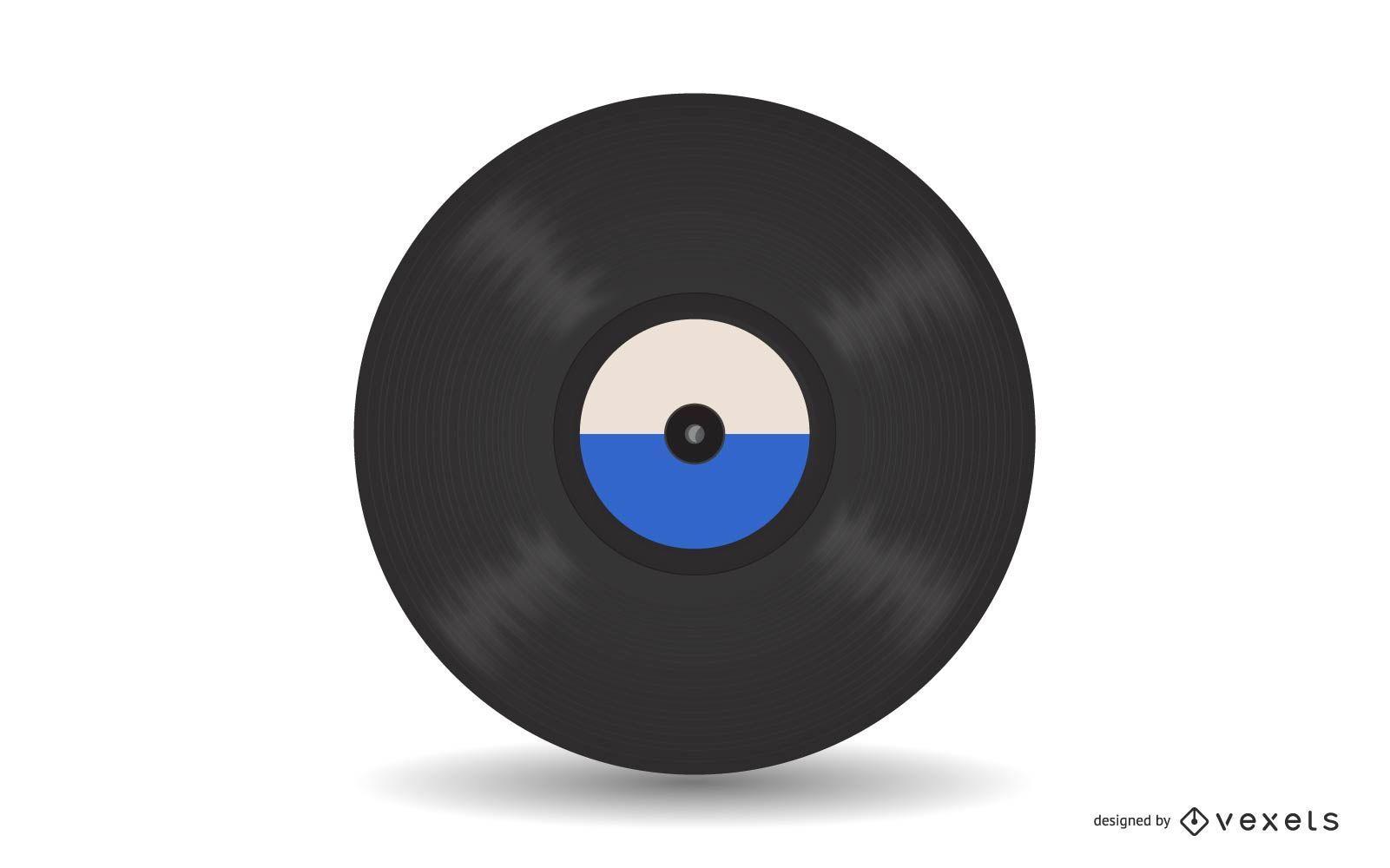 Vektor-Schallplatte