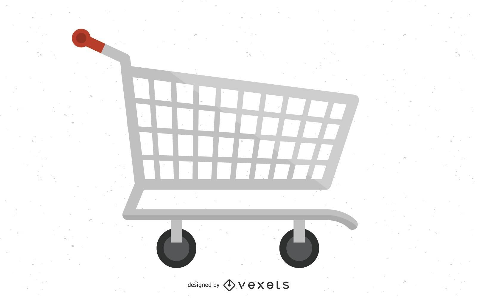 Vektor Einkaufswagen