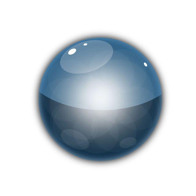 Glossy Vector Orb