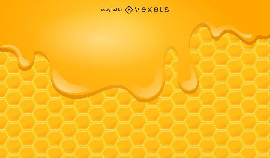Fondo de miel 2