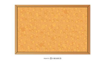 Textura do quadro de cortiça