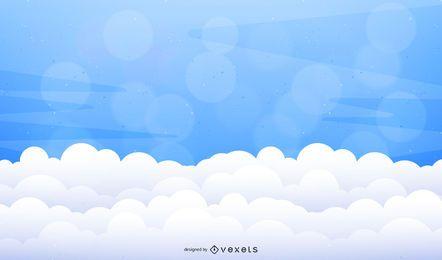 Nuvens de vetor