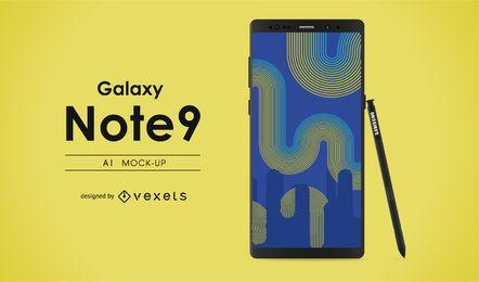 Galaxy nota 9