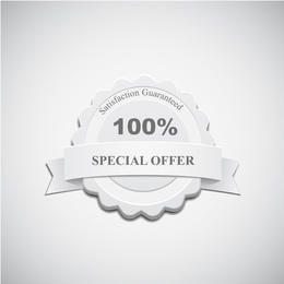 Etiqueta de oferta especial