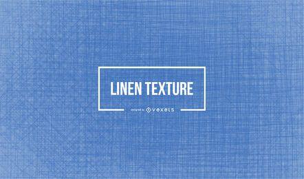 Textura de linho azul