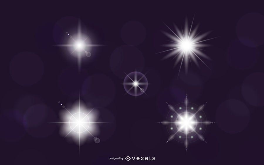 Vektor Lichteffekte