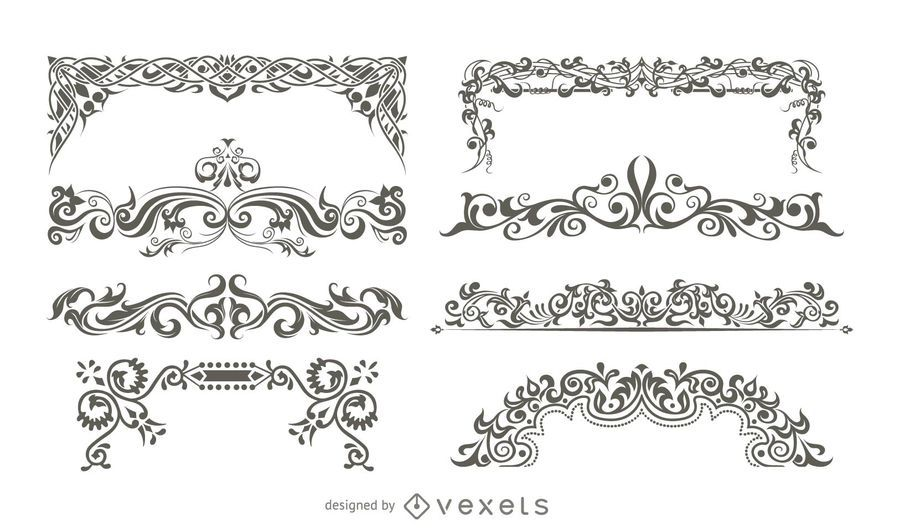Decorative Vector Ornaments