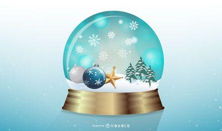 Vector Snowglobe