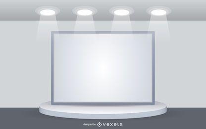 Panel de exposición