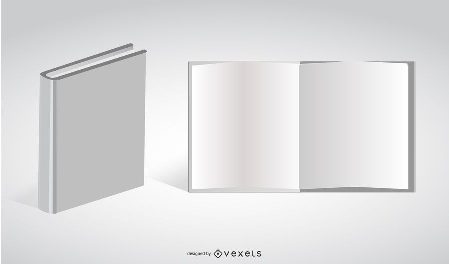 Livro Branco Vector