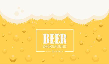 Fondo transparente de cerveza