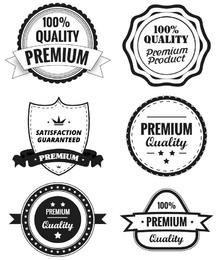 Etiquetas de Calidad Premium