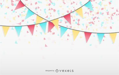 Bunting Background