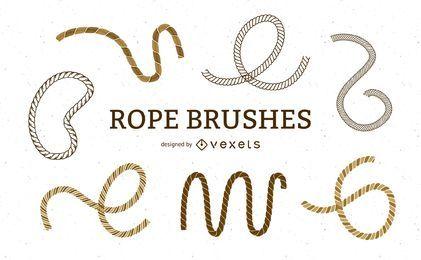 Escovas de corda