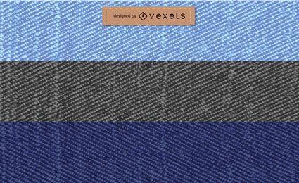 Colección de texturas de jeans