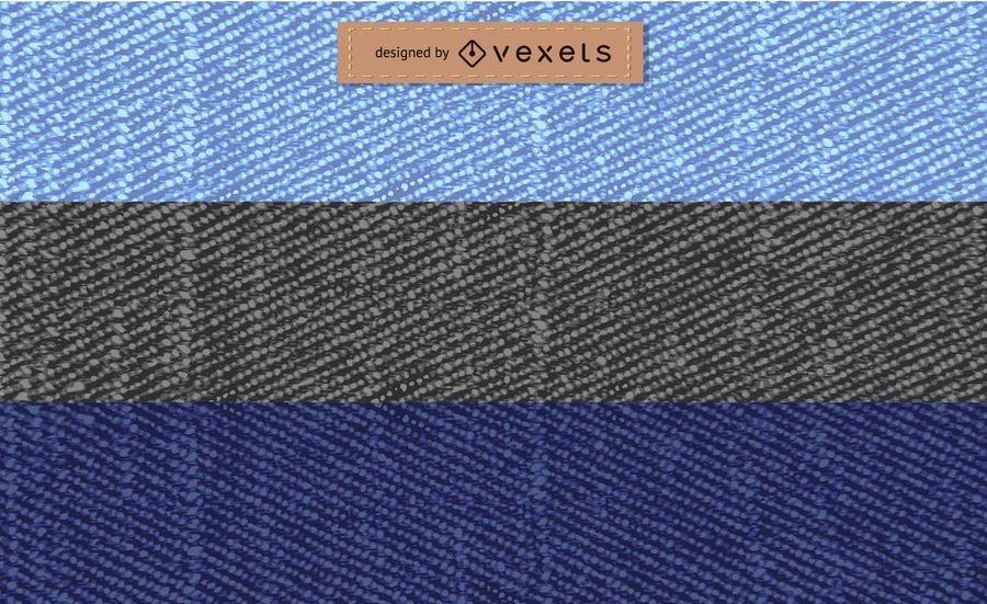 Colección de textura de jeans