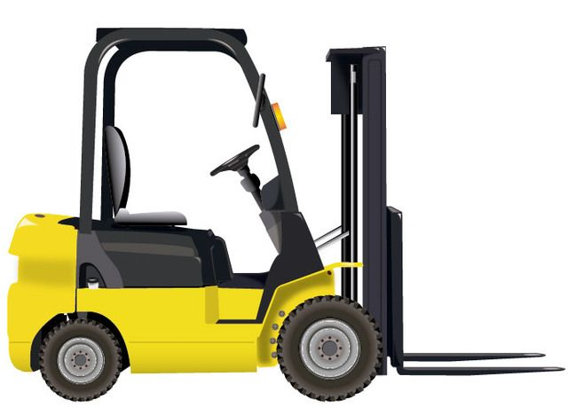 Forklift Icon - Vector download