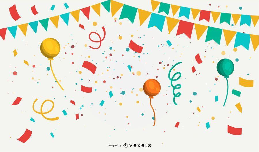 Celebration Background Vector Download