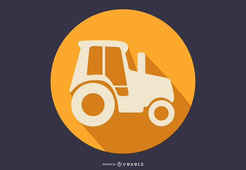 Icono de tractor