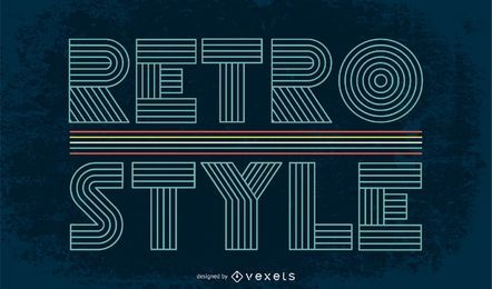 Retro Vector Backgrounds