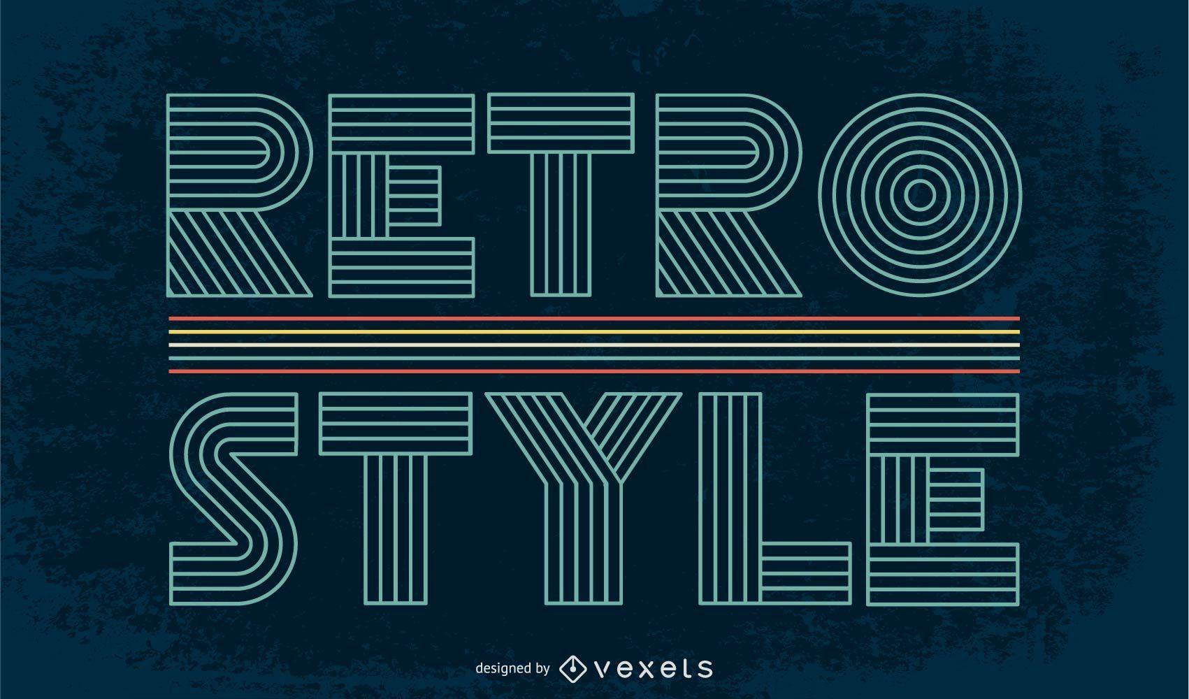Retro Vector Backgrounds