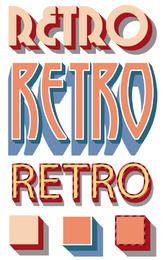 Retro Graphic Styles