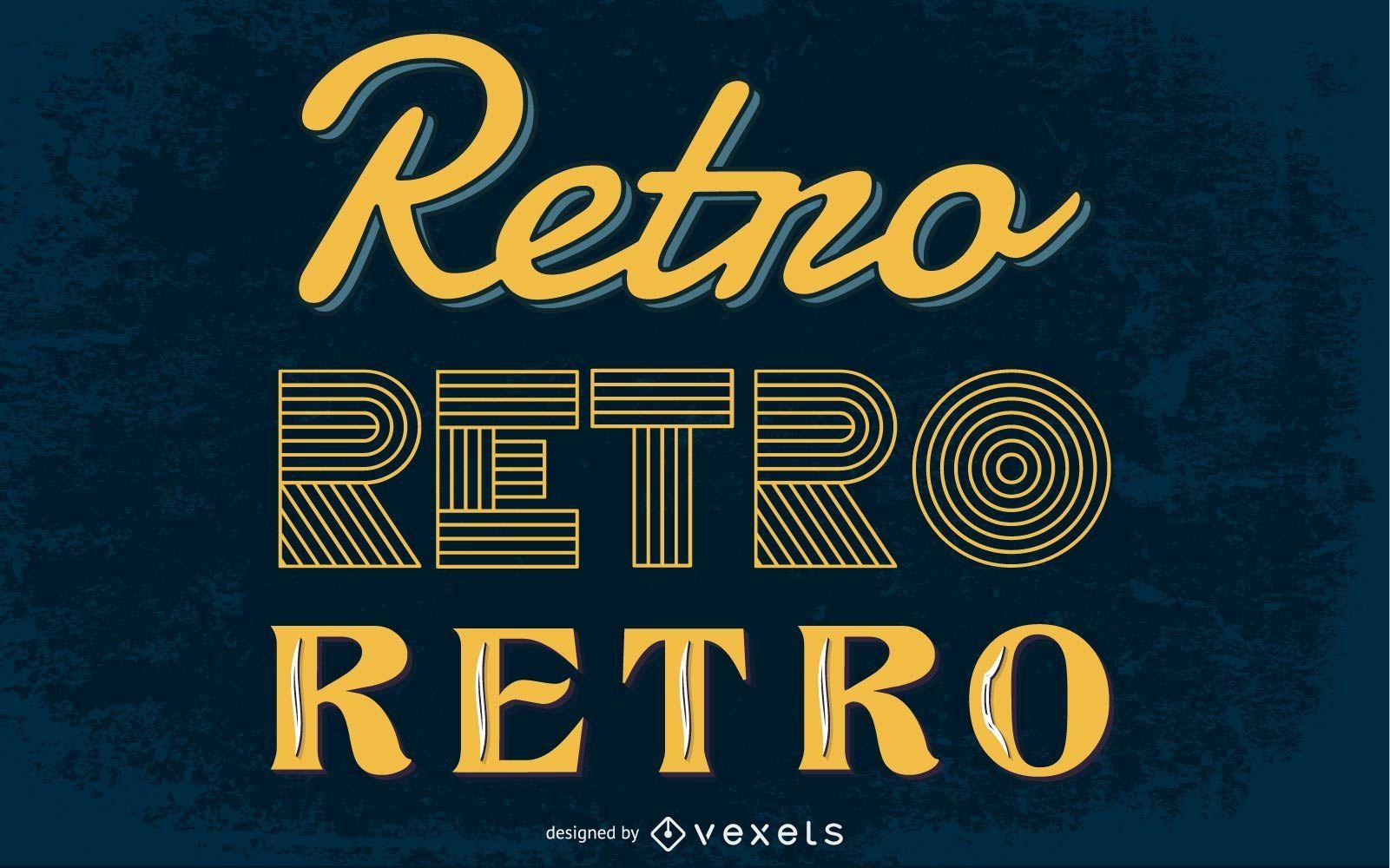 Retro Graphic Styles