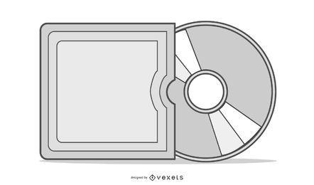 CD-Hülle