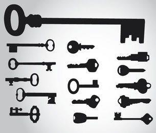 16 silhuetas-chave