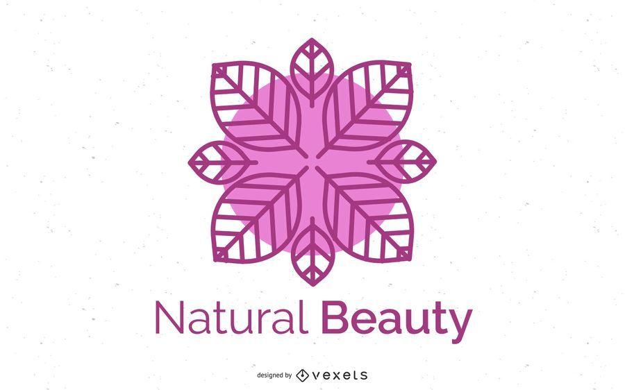 Gesundheit Logo Abstract Flower