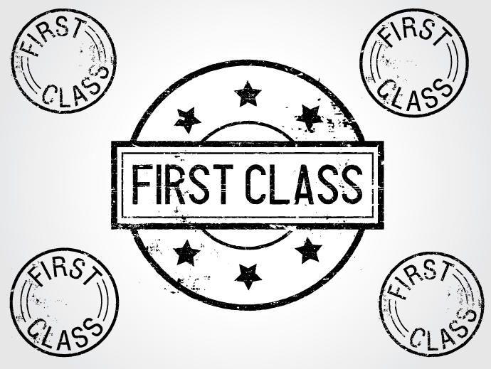 Sellos de primera clase
